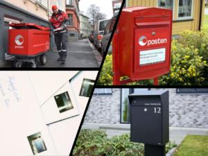 Brev, postkasser og postbud